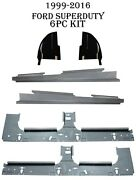 99-18 Ford Super Duty Crew Cab Full Length Inner Outer Rocker Panels Cab Corners