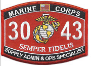 4.5 Marine Corps Mos 4631 Combat Still Photographer Embroidered Patch