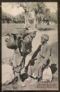 Mint Jerusalem Palestine Rppc Real Picture Postcard Water Carrier