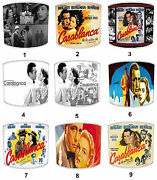 Old Casablanca Film Movie Lampshades Fits Either Table Lamps Or Ceiling Lights
