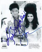 Lori Loughlin And John Stamos Signed Full House Elvis And Priscilla Presley Photo