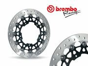Pair Brembo Front Brake Discs Sbk Yamaha Yzf R6 After 2005