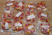 Lot Of 144 Pair Yellow Plastic Hands And Red Boots Fibre Craft Doll Animals Darice
