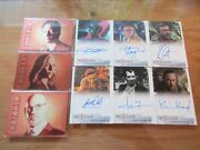 X-files Seasons 10 And 11 Trading Cards Full Master Set Parallels And Ab Exclusives