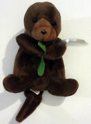 Seaweedandtrade The Otter Tyandtrade 4th Gen Beanie Baby German Errors 1995 Extremely Rare