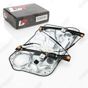 Electric Window Regulator With Panel Front Right For Vw Golf Iv Mk4 4/5 Door