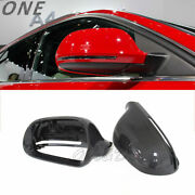 Carbon Fiber Mirror Cover For Audi A3 S3 A4 B8 A5 A6 A8 S5 Rs6 Q3 Casing Shell
