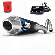 Hmf Competition Full System Exhaust + Efi Optimizer +uni Filter Ds 450 2008-2015