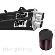 Hmf Can Am Brp Renegade 800 12 13 14 Black Dual Full Exhaust And Kandn Air Filter