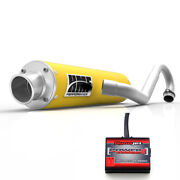 Hmf Performance Full System Exhaust Pipe Yellow Power Commander Pc5 Raptor 700