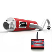 Hmf Performance Full System Exhaust Red Power Commander Pc5 Raptor 700 06 - 14
