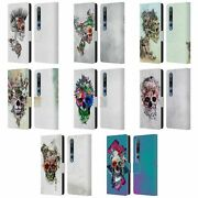 Official Riza Peker Skulls 5 Leather Book Wallet Case For Xiaomi Phones