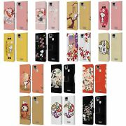 Official Peanuts Oriental Snoopy Leather Book Case For Asus Zenfone Phones