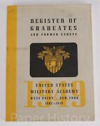 1949 Us Military Academy Register Of Graduates - West Point Coca Cola And More Ads
