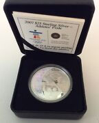 2007 Proof 25 2010 Vancouver Olympics 3-athleteand039s Pride Coin And Coa Free Ship