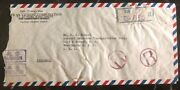 1948 Taipei Taiwan China Inflation Rate Commercial Cover To Washington Dc Usa