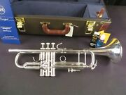Bach Stradivarius 180s37 Bb Trumpet, Silver, Mint W/h Tags And Box