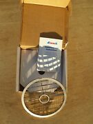 New Hobart 5/8 15.0mm Stainless Steel Food Processor Dicer Plate. For Fp's