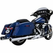 Vance And Hines Chrome Power Duals Exhaust System - 16871