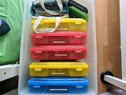 Lot Of Legos - 1000and039s Of Bricks And And Partially Complete Set And Instruction