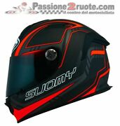 Helmet Suomy Sr Sport Full Carbon Red Casque Motorcycle Integral Helm Size Xs