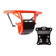 Hmf Iq Hd Front Bumper And Pull Plate Can-am Maverick X3 2017 - 2021 Can-am Red
