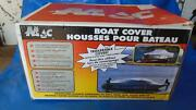 1563mac V-hull Fishing Boat 14and039-6 Attached Motor Cover Double Duck Haze Gray