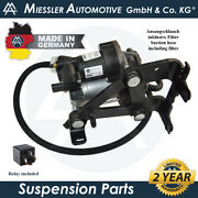 Jaguar Xj-series X351 Amk Air Suspension Compressor W/isolators And Filter C2d5825