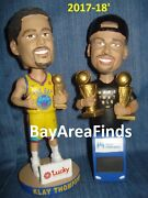 Golden State Warriors 2017 Stephen Curry And Klay Thompson Bobblehead Sga Bobble