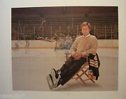 Ken Danby Bobby Orr Signed Boston Bruins Garden Of Dreams Limited Art Print