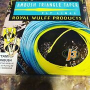 Royal Wulff Triangle Taper Ambush Integrated Skagit Floating Fly Line All Sizes