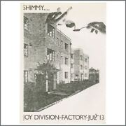 Joy Division 1979 The Factory Manchester Flyer Uk