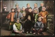 1909 Vancouver Wa Usa Postcard Cover Colchester Vt Group Of Chinese Children