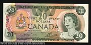 Canada 20 Dollars P93 A 1979 Queen Lake Mountain Almost Unc Money Bill Bank Note