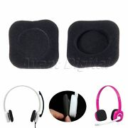 Replace Ear Pads Cushion For Logitech H150 Headphones 1 Pair Replacement Black