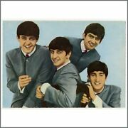 The Beatles 1963 Set Of Dezo Hoffmann Picture Postcards Germany