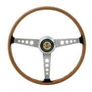 1967 Shelby Gt500 Steering Wheel 1968-1973 Mustang W/ Gt500 Horn Button And Sleeve