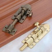 Door Security Guard Latch Bolt Home Cabinet Safety Gate Lock Hardware And Screws