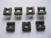 180 Pcs Ic Socket 8 Pin Round Dip High Quality Pitch 2.54mm X=7.62mm New