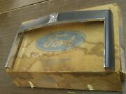 Nos Oem Ford 1982 1983 Lincoln Continental Grille Surround Moulding Trim Chrome