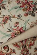 Vintage French Fabrics Antique Material Project Bundle Indienne C1870and039s