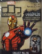 2015 Upper Deck Marvel Dossier Character Dog Tags Singles Iron Man - Spider-man