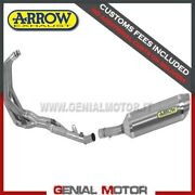 Full Exhaust Arrow Thunder Titanium Honda Cbr 600 F 2011 2013