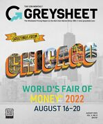 Monthly Greysheet Magazine- Single Edition- Current Month/edition In Stock