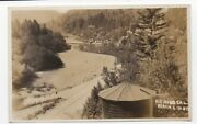 1930s Rppc Postcard Beach And Watertower Rio Nido On The Russian River Ca