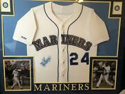 Signed Ken Griffey Throwback Jersey