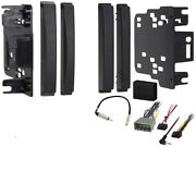 Dodge Nitro 2007-2011 Double Din Stereo Harness Radio Install Dash Kit Package