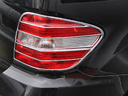 Mercedes W164 Ml Chrome Rear Tail Lamp Surround Frames Trims From 2008 To 2011