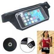 Sports Running Workout Waist Bag Belt Case Gym Cover Touch Screen For Cell Phone