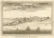 And039candocircte De Dabuland039. India. Coast Of Dabhol. Bellin / Schley 1755 Old Antique Map